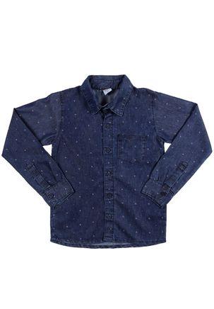 Camisa-Manga-Longa-Juvenil-Para-Menino---Azul
