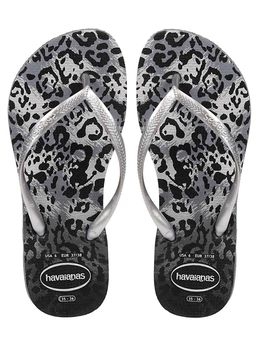 Chinelo-Feminino-Havaianas-Slim-Animals-Cinza