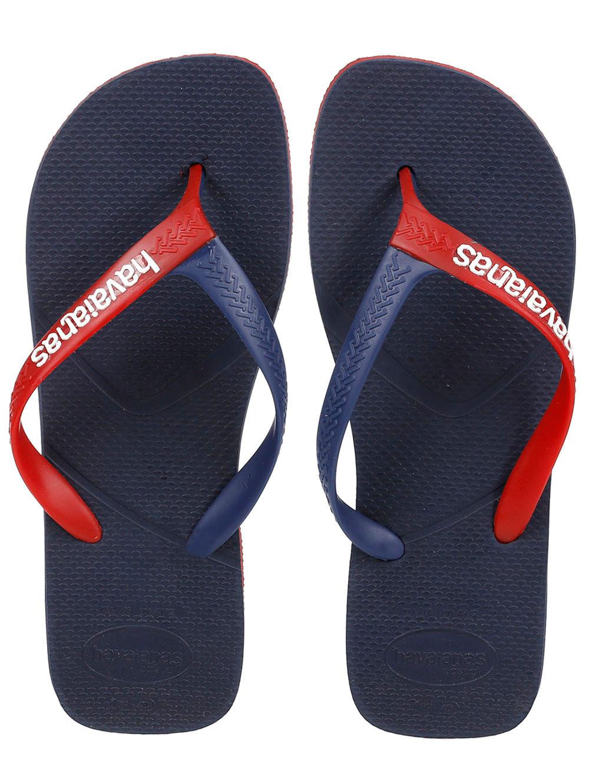 0560d3ce7e Chinelo Masculino Havaianas Azul marinho vermelho - Lojas Pompeia