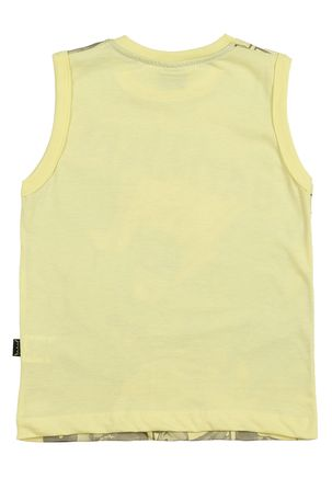 Camiseta-Regata-Batman-Infantil-Para-Menino---Amarelo