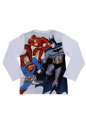 Camiseta-Manga-Longa-Infantil-Justice-League-Para-Menino---Branco