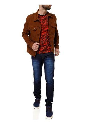 Jaqueta-Jeans-Masculina-Bivik-Marrom