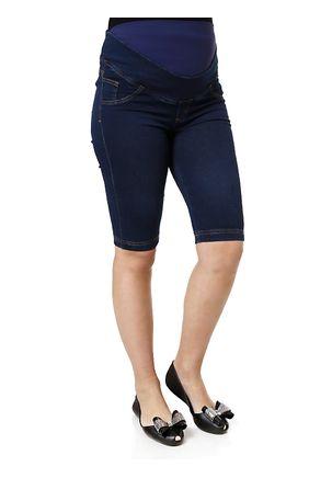 Bermuda-Jeans-Feminina-Gestante-Azul