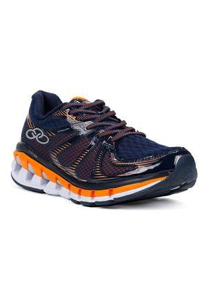 Tenis-Esportivo-Masculino-Olympikus-Speedy-Running-Azul-marinho-laranja