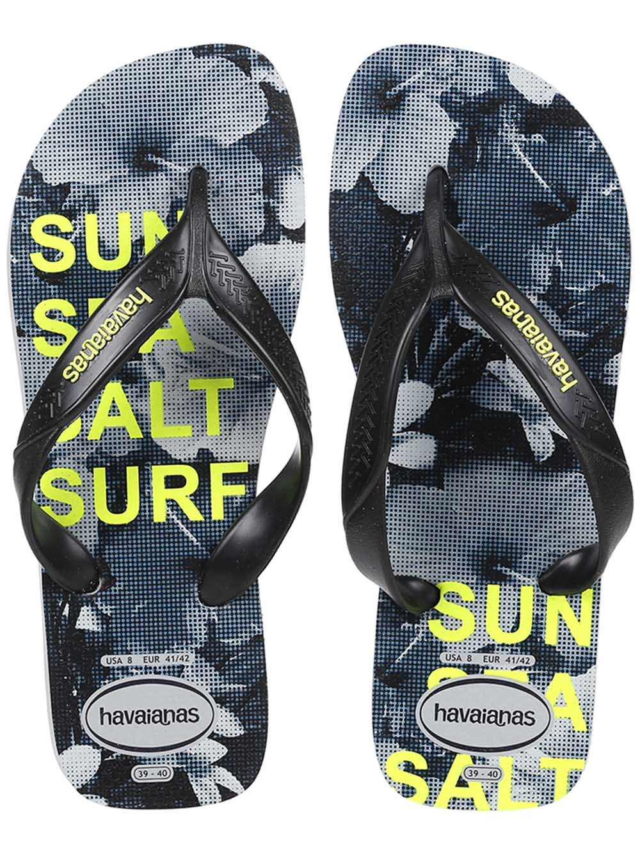 2da391ee5ba0 Chinelo Masculino Havaianas Surf Cinza preto - Lojas Pompeia