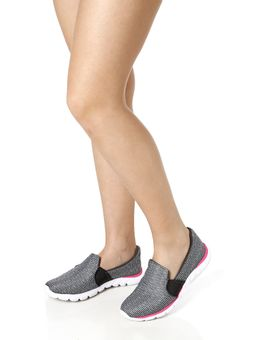 Tenis-Casual-Feminino-Kolosh-Sleep-On-Nylon-Cinza-claro