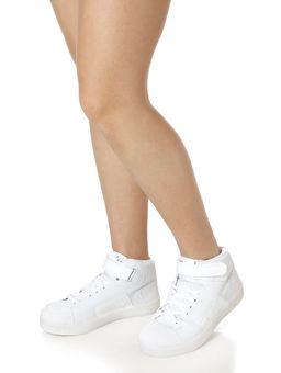 Tenis-Cano-Alto-Led-Casual-Feminino-Branco