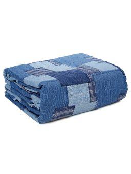 Kit-de-01-Colcha-Queen-com-02-Porta-Travesseiro-Santista-Azul