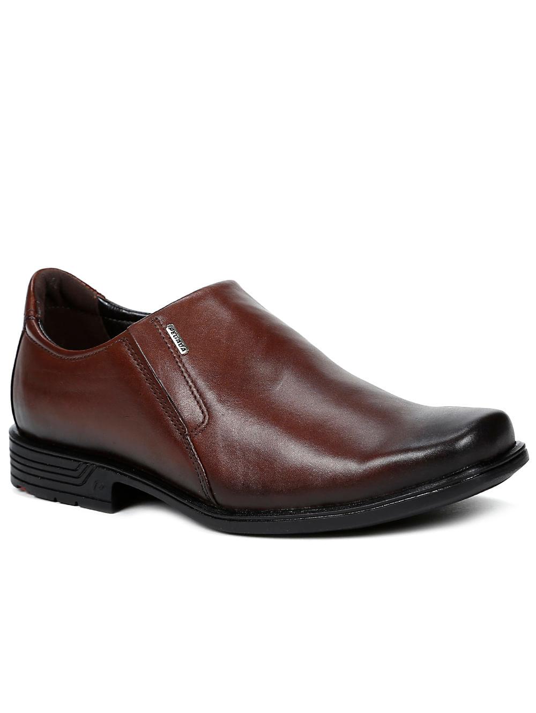 6d46302f3 Sapato Casual Masculino Pegada Telha - Lojas Pompeia