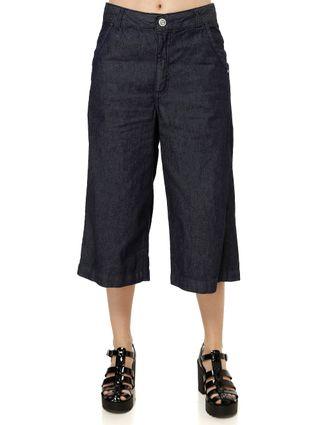 Calca-Jeans-Pantacourt-Feminina-Uber-Azul