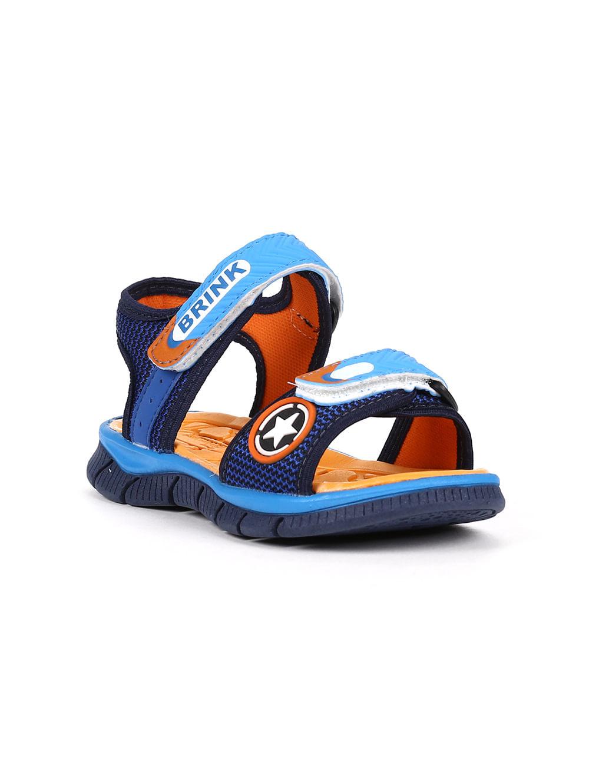 2f6f4242c Sandália Brink Infantil Para Menino - Azul marinho/azul - Lojas Pompeia