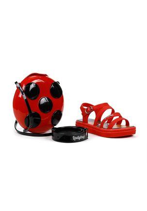 Sandalia-Infantil-Para-Menina-Ladybug---Vermelho