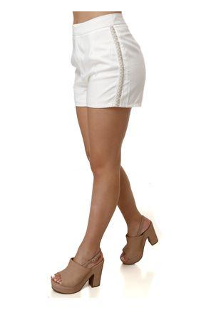 Short-Sarja-Feminino-Off-white