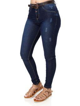 Calca-Jeans-Feminina-com-Cinto-Azul