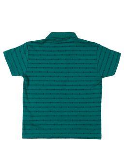Polo-Manga-Curta-Infantil-Para-Menino---Verde