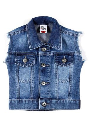Jaqueta-Jeans-Para-Menina---Azul