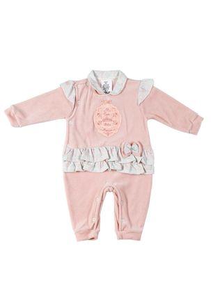 Macacao-Infantil-Para-Bebe-Menina---Salmao