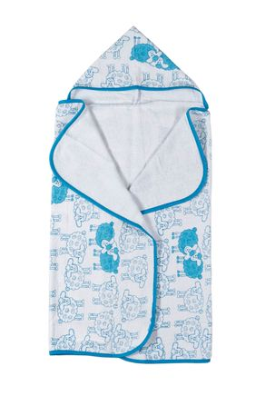 Toalha-Infantil-com-Capuz-Diannelli-Azul