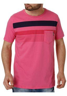 Camiseta-Manga-Curta-Masculina-No-Stress-Rosa