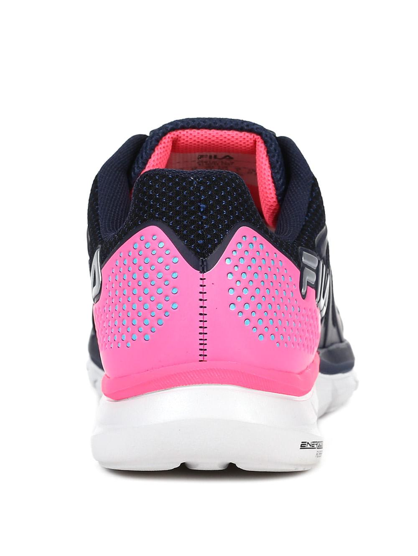 2a3e6bc8fb4 Tênis Esportivo Feminino Fila Powerfull Azul marinho rosa - Lojas ...