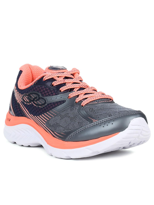 87b5898aa2 Tênis Esportivo Feminino Olympikus Like Running Coral - Lojas Pompeia