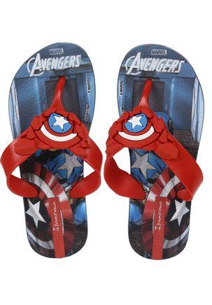 Chinelo-Avengers-Infantil-Para-Menino---Azul-vermelho