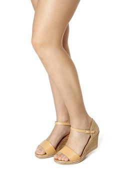 Sandalia-Anabela-Feminina-Comfortflex-Caramelo