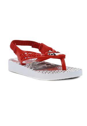 Sandalia-Patrulha-Canina-Infantil-Para-Menina---Branco-vermelho