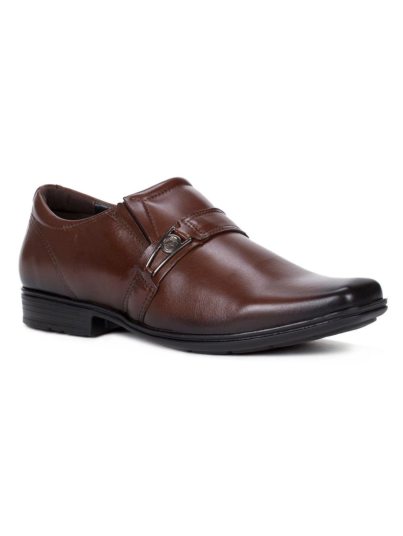 6ad05e17bb Sapato Casual Masculino Pegada Marrom escuro - Lojas Pompeia