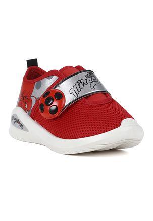 Tenis-Ladybug-Infantil-Para-Menina---Branco-vermelho