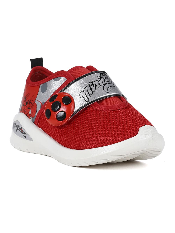 889d8f1f750 Tênis Ladybug Infantil Para Menina - Branco vermelho - Lojas Pompeia