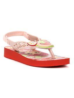 Sandalia-Infantil-Para-Menina-Moranguinho-Pop-Baby-Vermelho