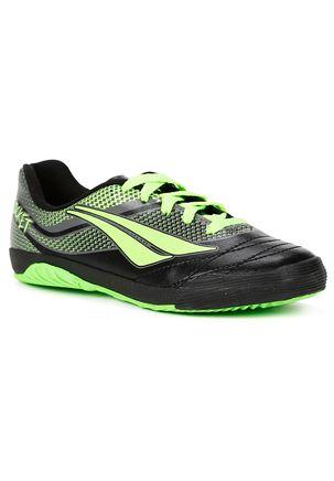 Tenis-Futsal-Penalty-Rocket-Vii-Infantil-Para-Menino---Preto-verde