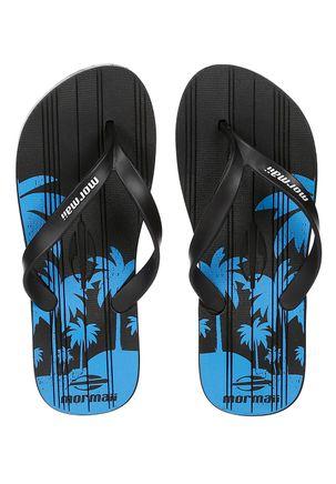 Chinelo-Masculino-Mormaii-Tropical-Grafics-Azul-preto