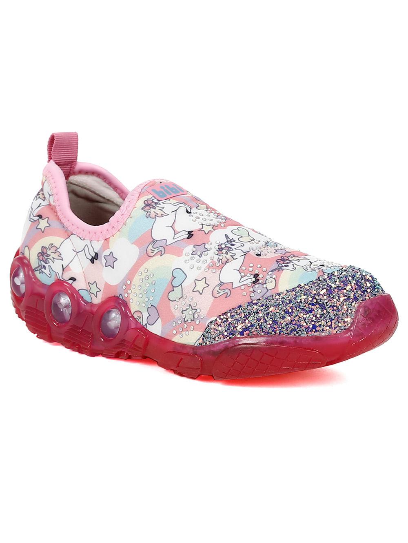 ef3c463b14 Tênis Infantil Para Menina Bibi Space Wave Rosa - Lojas Pompeia