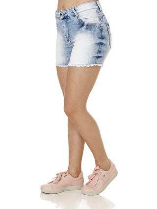 Short-Jeans-Feminino-Bivik-Azul