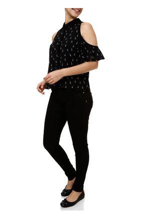 Camisa-Manga-Curta-Feminina-Preto