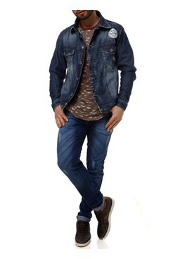 Jaqueta-Jeans-Masculina-Sawary-Azul