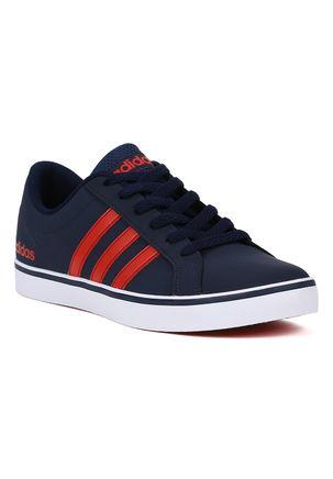 Tenis-Casual-Masculino-Adidas-Pace-Azul-marinho-vermelho