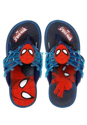 Chinelo-Homem-Aranha-Infantil-Para-Menino---Azul