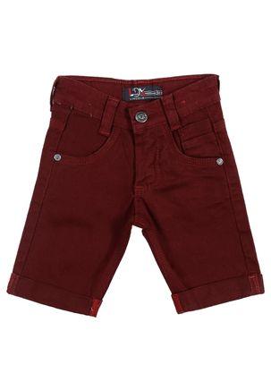 Bermuda-Jeans-Infantil-Para-Menino---Bordo