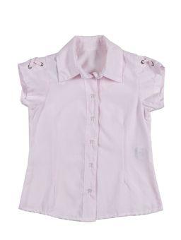 Camisa-Manga-Curta-Infantil-Para-Menina---Rosa