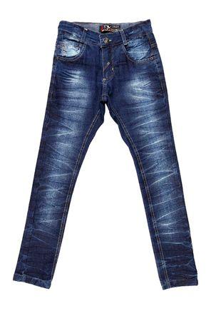 Calca-Jeans-Juvenil-Para-Menino---Azul