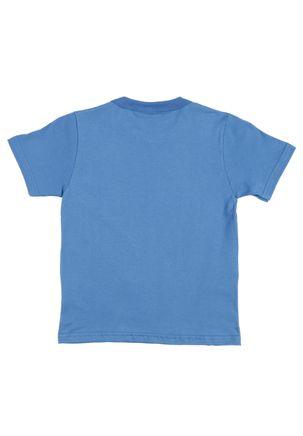 Camiseta-Manga-Curta-Spider-Man-Infantil-Para-Menino---Azul
