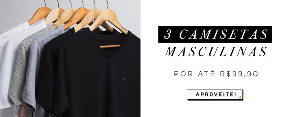 3 camisetas