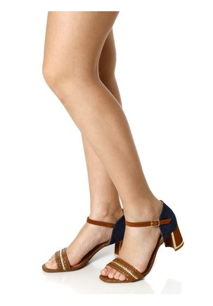 Sandalia-de-Salto-Feminina-Crysalis-Marrom-azul