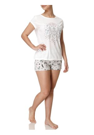 Pijama-Curto-Feminino-Off-white