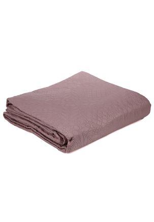 Kit-de-Colcha-Casal-com-Porta-Travesseiros-Inter-Home-Rosa
