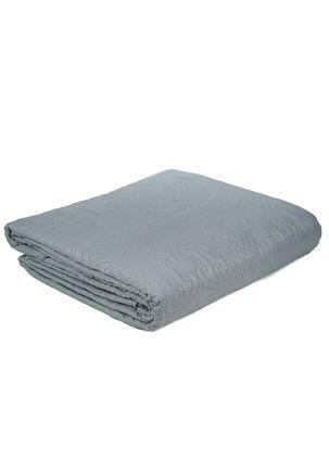 Kit-de-Colcha-Casal-com-Porta-Travesseiros-Inter-Home-Verde