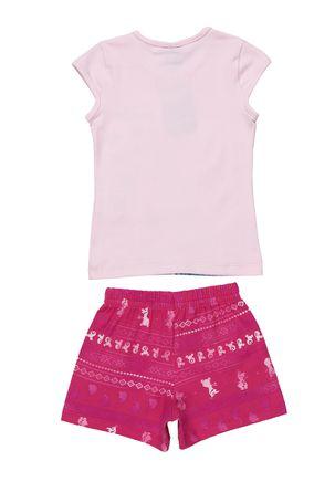 Conjunto-Disney-Infantil-Para-Menina---Rosa